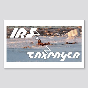 IRS Eagles Rectangle Sticker