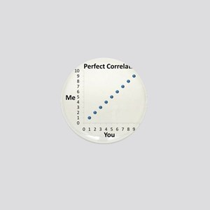 Perfect Correlation Mini Button