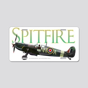 Beautiful Spitfire artwork  Aluminum License Plate