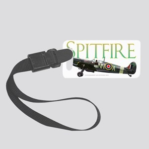Beautiful Spitfire artwork on Small Luggage Tag