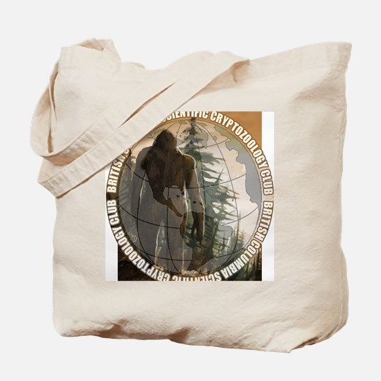 BCSCC Sasquatch Club Logo Tote Bag