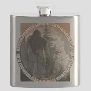 BCSCC Sasquatch Club Logo Flask
