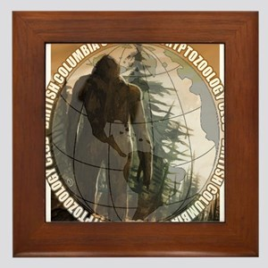 BCSCC Sasquatch Club Logo Framed Tile
