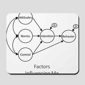 Factors Influencing Me? Mousepad