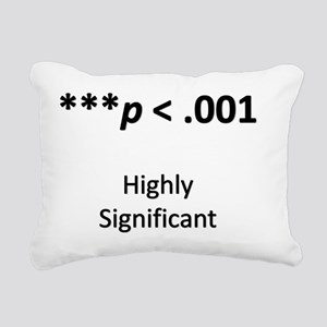 Path Analysis Rectangular Canvas Pillow