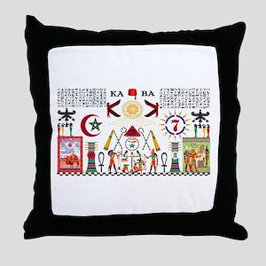 ALI KEMETIAN ADEPT Throw Pillow