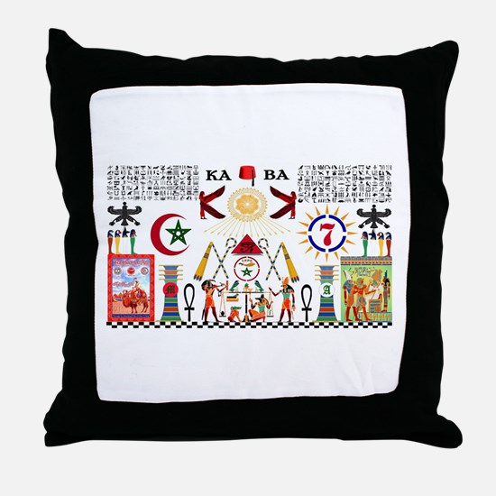 ALI KEMETIAN ADEPT Throw Pillow