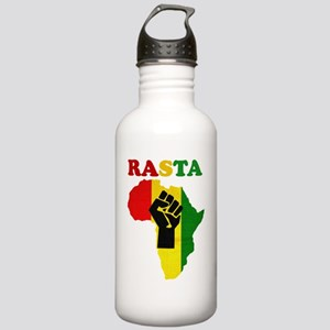 Rasta Black Power Afri Stainless Water Bottle 1.0L