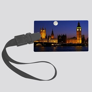 London Large Luggage Tag