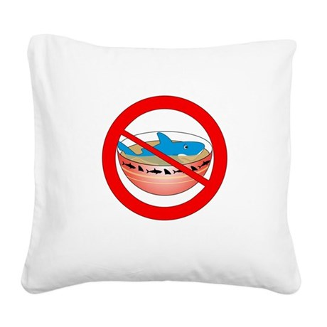 Extinction is Forever Square Canvas Pillow