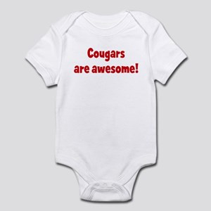 Cougars are awesome Infant Bodysuit