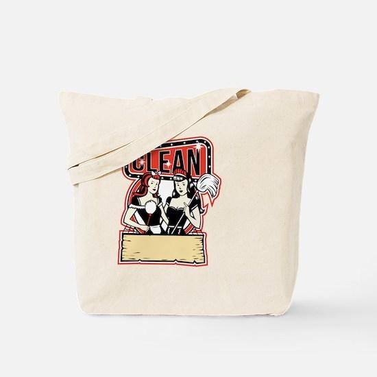 Cute Domestic help Tote Bag
