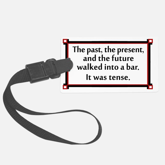 The past, present and future wal Luggage Tag