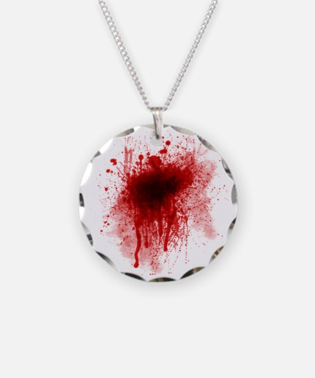 Blood stain Necklace
