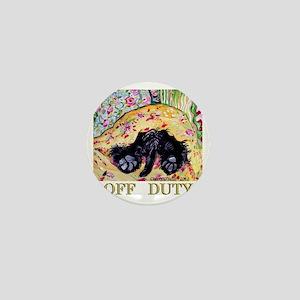 Scottish Terrier Off Duty Mini Button
