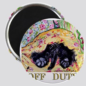 Scottish Terrier Off Duty Magnet