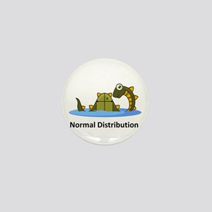 Normal Distribution Mini Button
