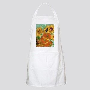 Van Gogh twelve sunflowers Apron