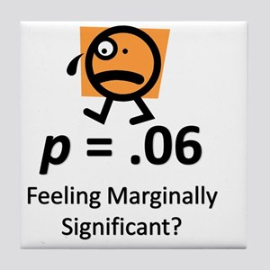 Feeling Marginally Significant? Tile Coaster