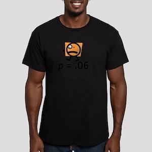 Feeling Marginally Sig Men's Fitted T-Shirt (dark)
