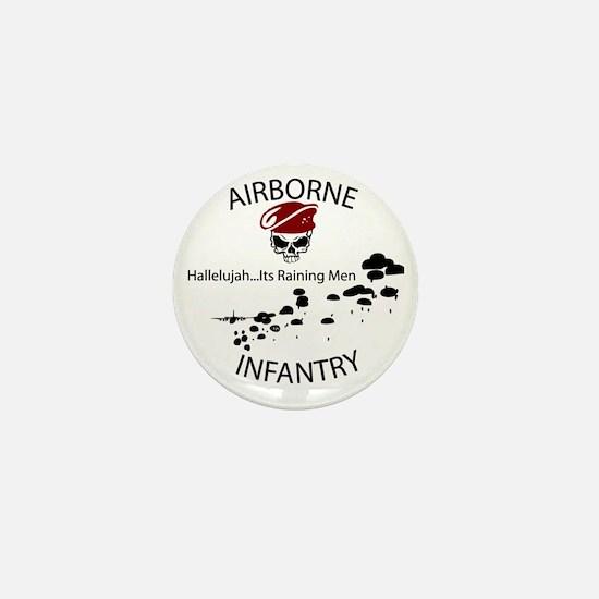 airborne infantry Mini Button
