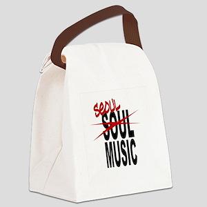 Seoul Music (K-pop) Canvas Lunch Bag