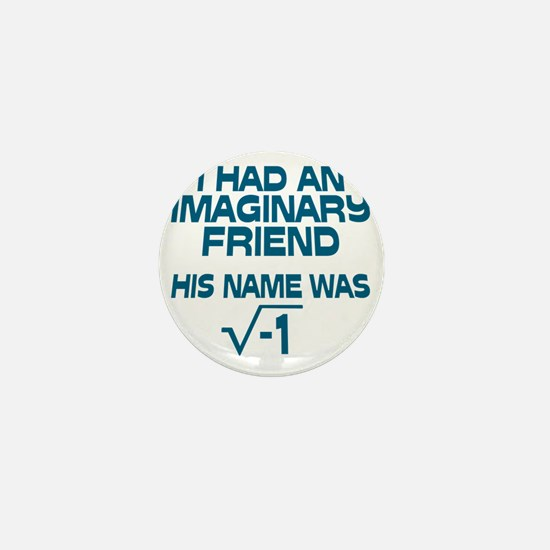 Imaginary Friend Mini Button