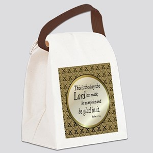 Psalms Canvas Lunch Bag