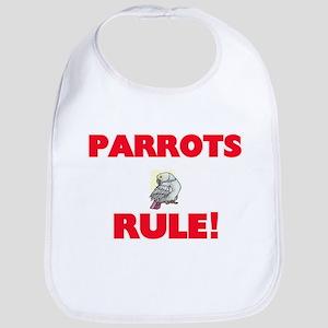 Parrots Rule! Baby Bib