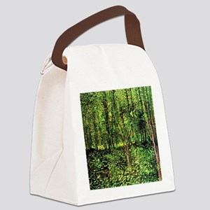 Van Gogh Trees And Undergrowth Canvas Lunch Bag