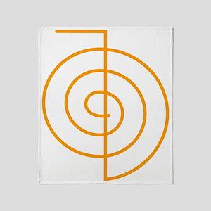 Cho Ku Rei (orange) Throw Blanket