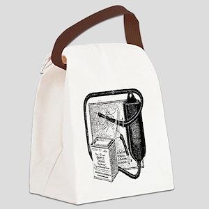 Vintage douche bag Canvas Lunch Bag