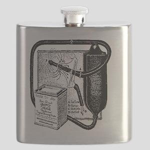 Vintage douche bag Flask