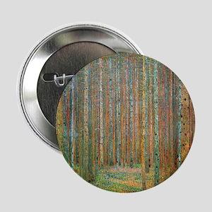 """Gustav Klimt Pine Forest 2.25"""" Button"""