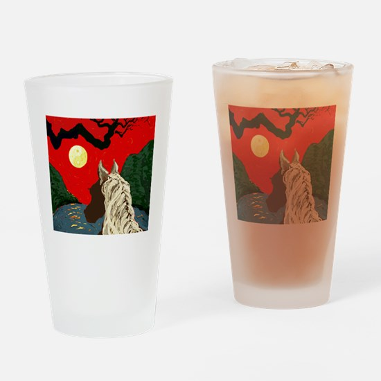 Part The Wild Horses Mane Drinking Glass