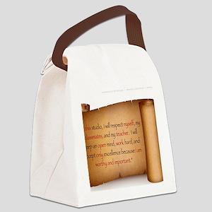 Studio Pledge Canvas Lunch Bag