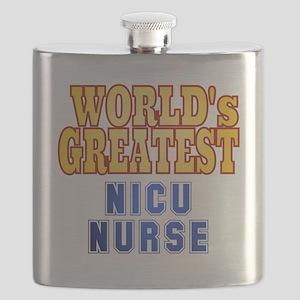 World's Greatest NICU Nurse Flask