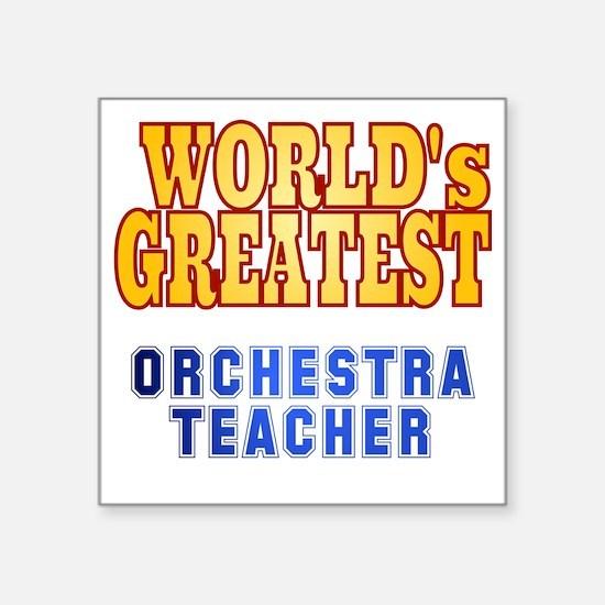 """World's Greatest Orchestra  Square Sticker 3"""" x 3"""""""