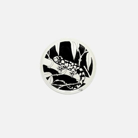 Garden Lizard Mini Button