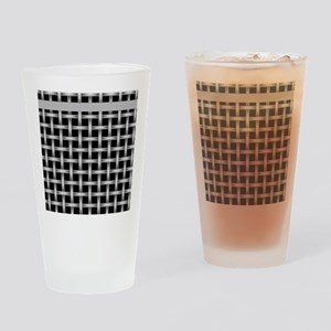 Black and Gray Drinking Glass