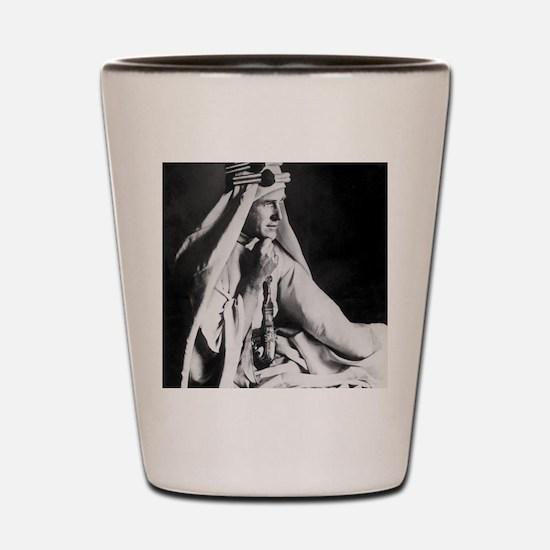 Lawrence of Arabia Shot Glass