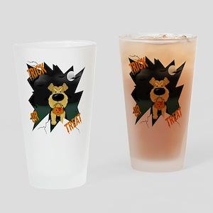 AiredaleHalloweenShirt3 Drinking Glass