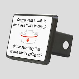 Nurse-Secretary Rectangular Hitch Cover