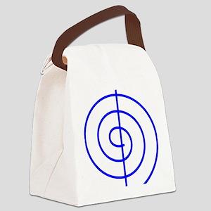 Cho Ku Rei (blue) Canvas Lunch Bag