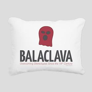 Balaclava Rectangular Canvas Pillow