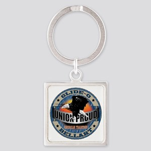 Union American Tradition Square Keychain