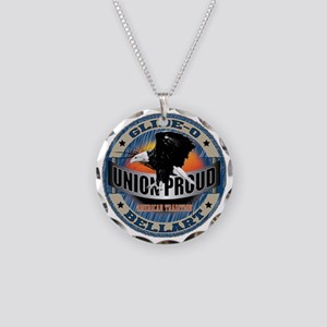 Union American Tradition Necklace Circle Charm