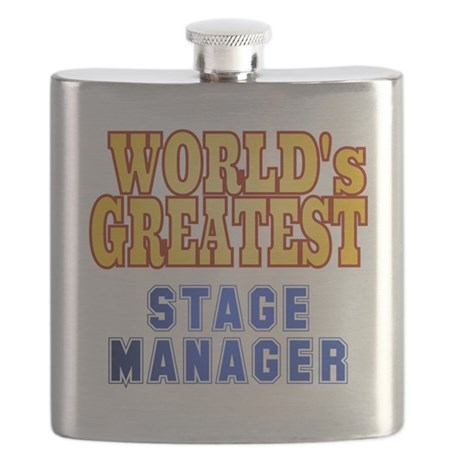 World's Greatest Stage Manager Flask