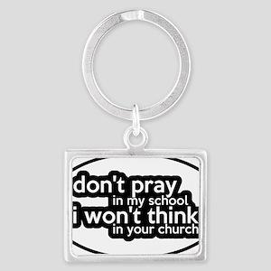 prayschool3 Landscape Keychain