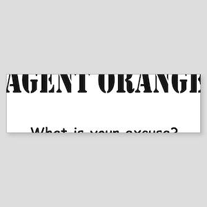 Agent Orange Sticker (Bumper)